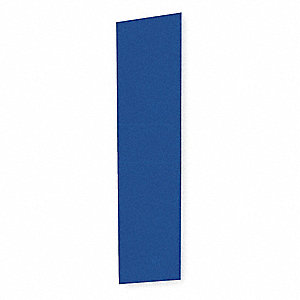 End Panel For Slope Top Locker,D 12,Blue