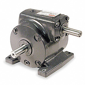Standard Cast Iron Indirect Drive Speed Reducer, Single Output, 700 lb. Overhung Load