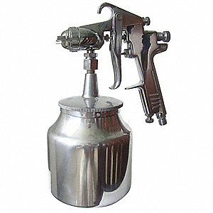 Siphon Spray Gun,0.070In/1.8mm