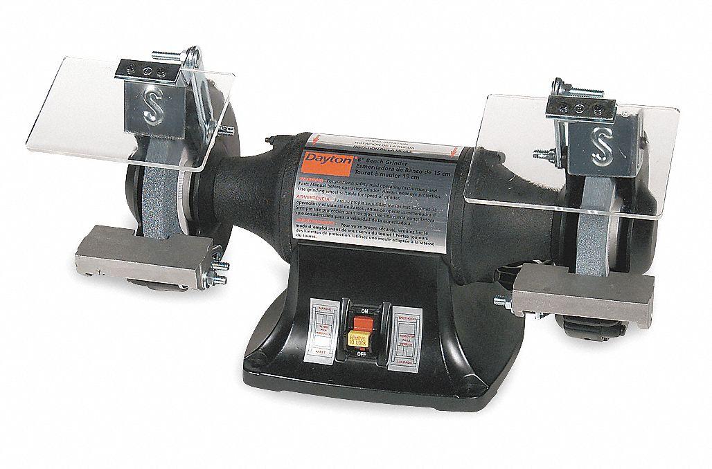dayton heavy duty bench grinder, 115 230v, 1 4 hp, 3450 max rpm Dayton Angle Grinder Parts dayton heavy duty bench grinder, 115 230v, 1 4 hp, 3450 max rpm arbor, 3 0 1 5 amps 2z425 2z425 grainger