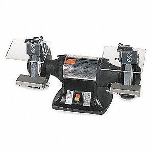 Dayton Heavy Duty Bench Grinder 115 230v 1 4 Hp 3450