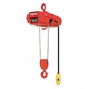 coffing hoist wire rope 500 lb 2z668 2z668 grainger. Black Bedroom Furniture Sets. Home Design Ideas