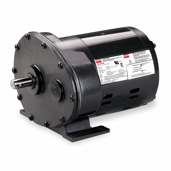 Dayton ac gearmotor nameplate rpm 30 enclosure odp 2z794 for Dayton gear motor catalog