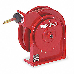"1/4"", 20 ft. Spring Return Hose Reel, 300 psi Max. Pressure"
