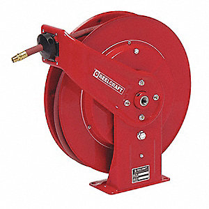 "Hose Reel,Spring,3/8"",50 ft"