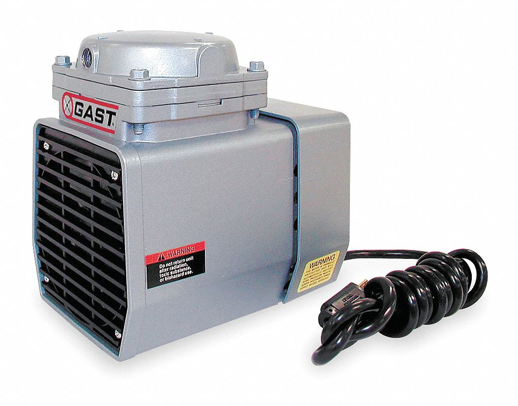 1/8 hp HP Diaphragm Compressor/Vacuum Pump