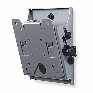 Flat Panel Tilt Mount,Wall,Steel,Black