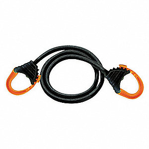 Bungee Cord,Closing Snap Hook,32 In.L