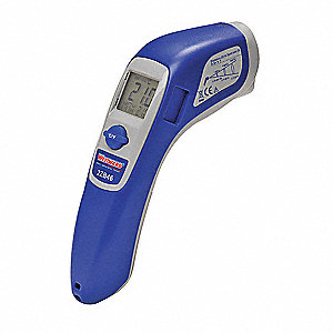 Infrared Thermometer, -58° to 932°F Temp. Range (F), Includes: Batteries