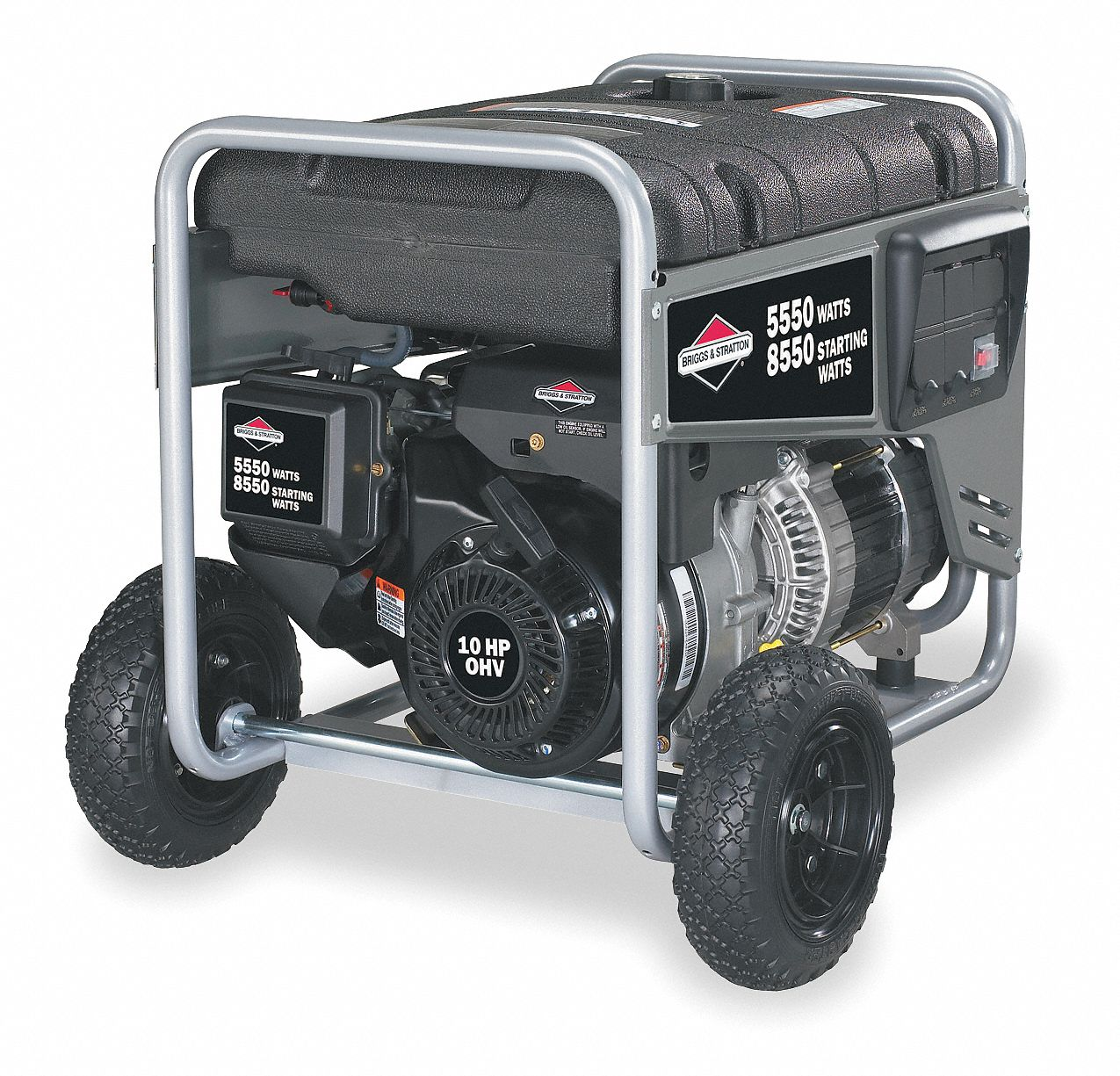 briggs stratton recoil gasoline portable generator 5550 rated rh grainger com briggs and stratton 5500 watt generator parts briggs and stratton storm responder 5500 watt generator manual