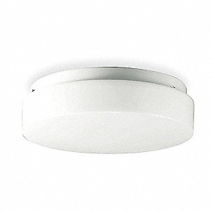 Ceiling Fixture,18W,Compact Fluorescent