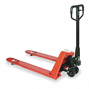 Pallet Truck,Low Profile,4400 lb Cap