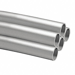 Aluminum Pipe,Nominal Size 1-1/2 In,PK5