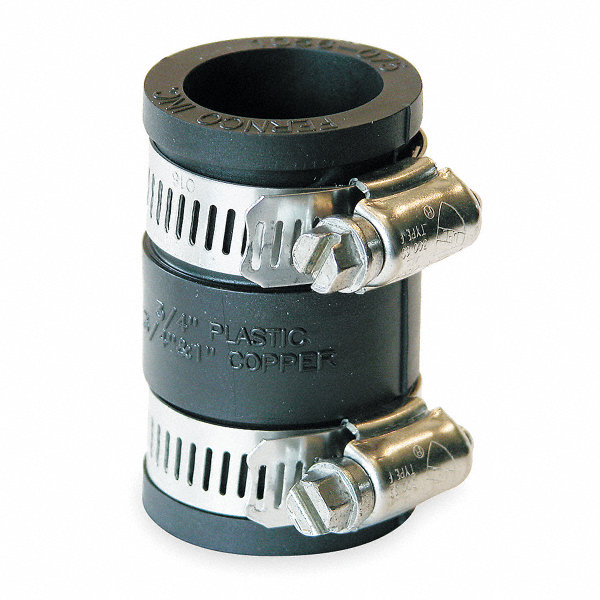 Fernco pvc flexible coupling for pipe size quot