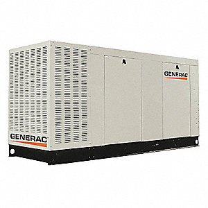 Liquid Engine Cooling, 120/208VAC Voltage, Engine Size: 6.8L, 163 kVA Rating, 3 Phase