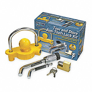 Tow And Store Anti-Theft Lock Set