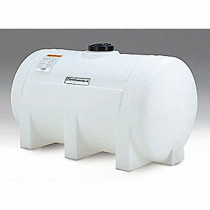 125-gal. Closed Top Horizontal Leg Storage Tank