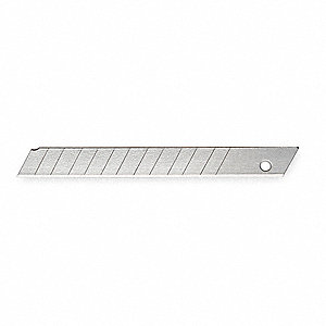 "3-1/4"" x 9mm Stainless Steel Snap-Off Blade&#x3b; PK50"