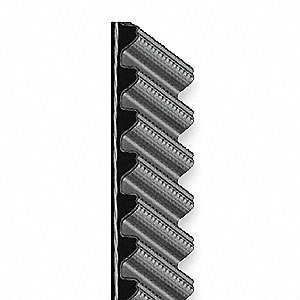 Synchronous Drive Gearbelt, Hawk Pd Gearbelt Type, Number of Teeth: 180, 8mm Pitch, 1440mm Pitch Len