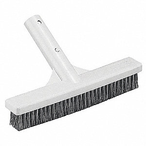 Kwik Snap Handle Algae Brush, White/Stainless Steel