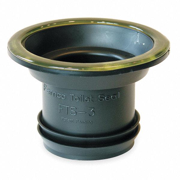 Fernco Elastomeric Polyvinyl Chloride Wax Free Seal Black