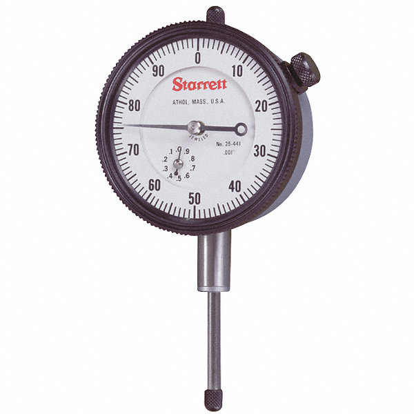 Starrett Electronic Indicator : Starrett continuous reading dial indicator agd