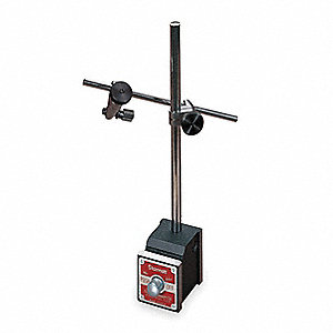 Magnetic Base w/Attachments, 100 Magnetic Pull (Lb.), 1 15/16 W x 1 5/8 D x 1 7/8 H Base Size (In.),