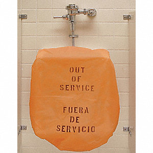 "36"" Out-of-Service Bonnet For Use With Urinals"