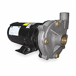 Stainless Steel 1-1/2 HP Centrifugal Pump, 208-230/460VAC Voltage, 4.4-3.9/2.0 Amps
