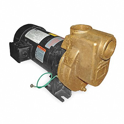 2ZXR3 - Centrifugal Pump 1 HP 3 Ph 208-230/460