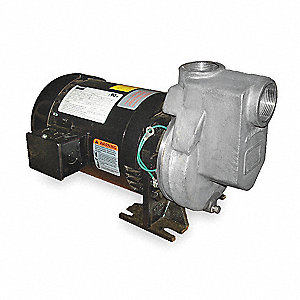 "2HP Stainless Steel Centrifugal Pump, 1-1/2"" NPT Inlet, 1-1/2"" NPT Outlet"