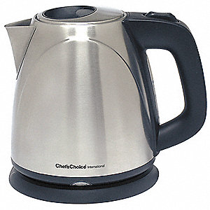 Electric Kettle,1L,Stainless Steel