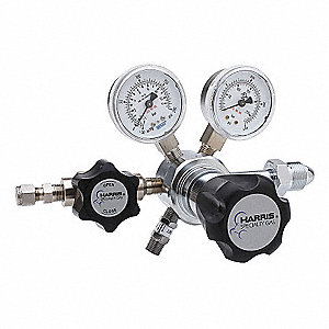 742 Series, Specialty Gas Regulator, Two Stage, 0 to 50 psi, CGA-660 Inlet Connection