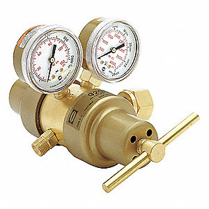9296 Series, Specialty Gas Regulator, Two Stage, 0 to 15 psi, CGA-510 Inlet Connection