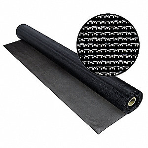 "100 ft. x 48"" Vinyl Coated Polyester Door and Window Screen, Charcoal"