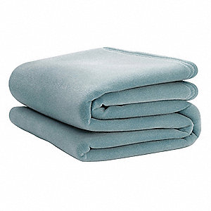 "90"" x 108"" King Nylon Vellux Blanket, Bluebell"