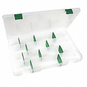 Adjustable Compartment Box,Translucent