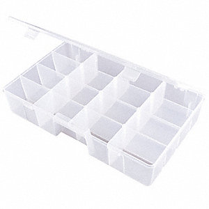 Compartment Box,Adjustable,16