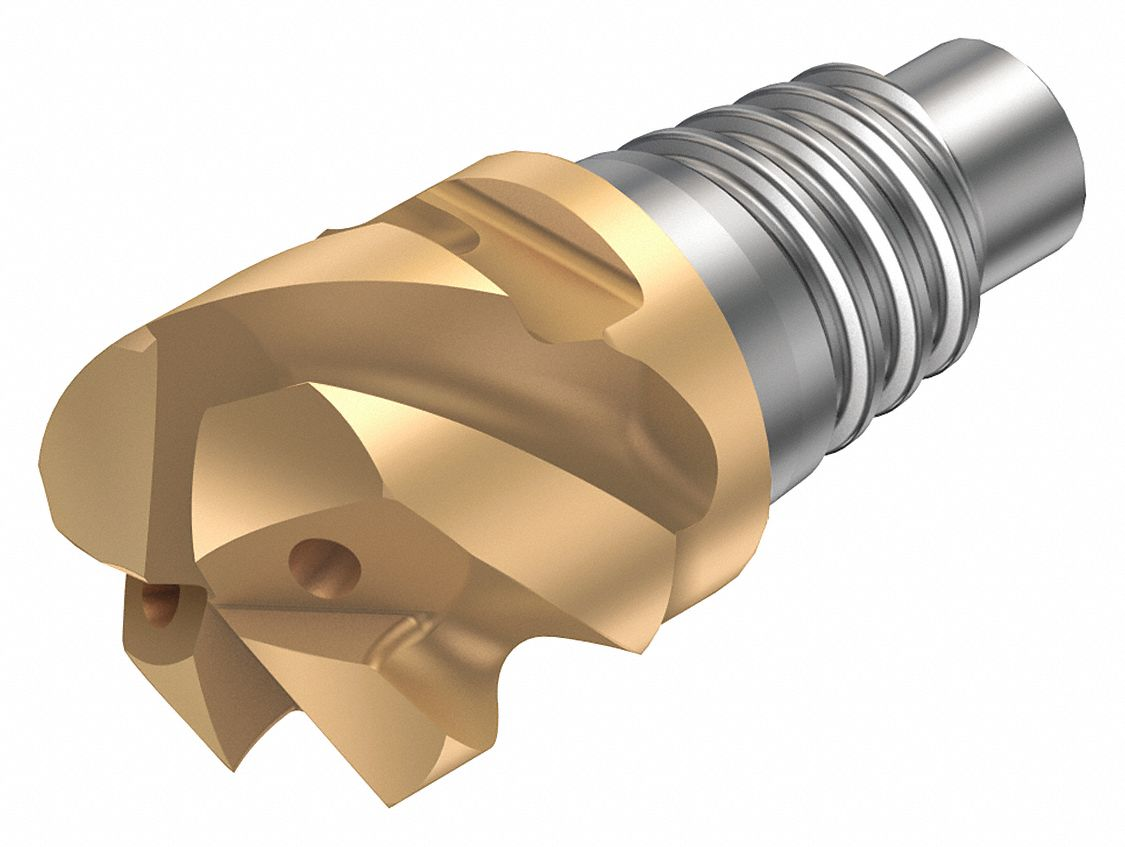 10 Insert Size Sandvik Coromant R300-032A25-10H CoroMill 300 Profile Milling Cutter Right Hand Round Shank Steel 4 Extra Close Pitch 22mm Cutting Diameter x 150mm Overall Length