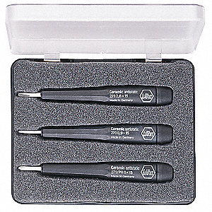 PRECISION SCREWDRIVER SET,ESD SAFE,