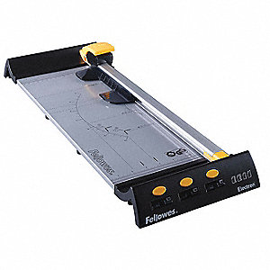 "10-Sheet Rotary Paper Trimmer with 18"" Cutting Length, 3-3/8"" Height"