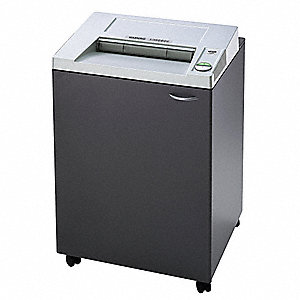 Industrial Paper Shredder, Strip-Cut Cut Style, Security Level 2