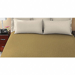 "95"" x 68"" Twin Coverlet, Cumin"