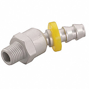 Swivel 6061-T6 Aluminum Push On Hose Fitting