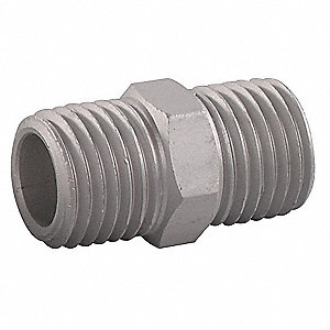 PIPE FITTING,NIPPLE,1/4MNPT
