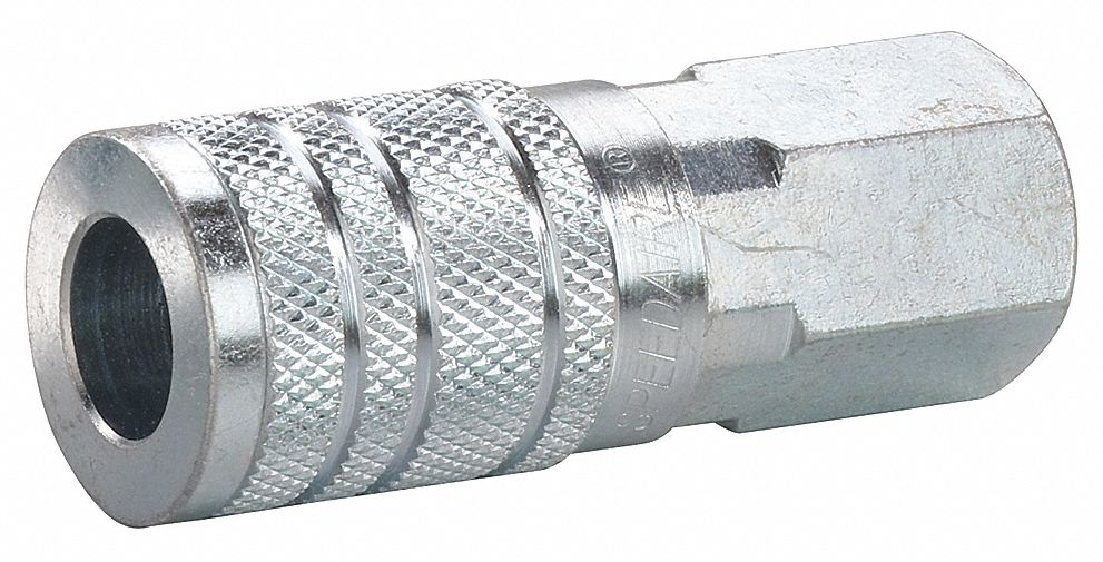 Quick Connect Hose Coupling,  Industrial,  Steel,  Socket