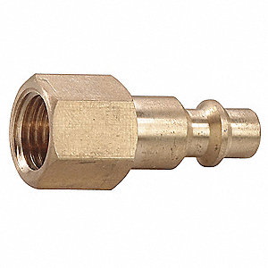 Brass Industrial Quick Coupler Plug