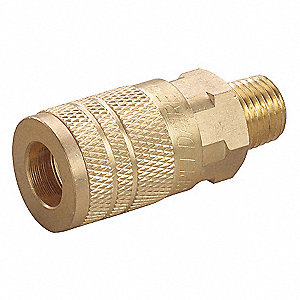 Brass Industrial Quick Coupler Body
