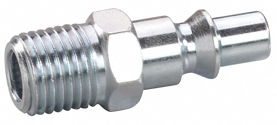 Quick Connect Hose Coupling,  ARO,  Steel,  Plug