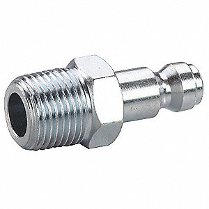 Steel Tru-Flate-Automotive Quick Coupler Plug